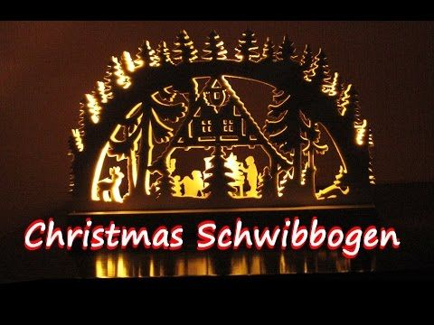 making a Schwibbogen / Christmas Arch - woodworking - YouTube