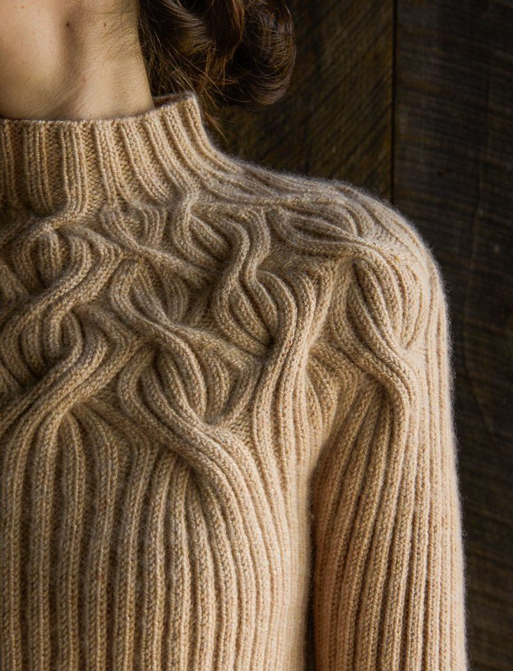 Botanical Yoke Pullover Pattern