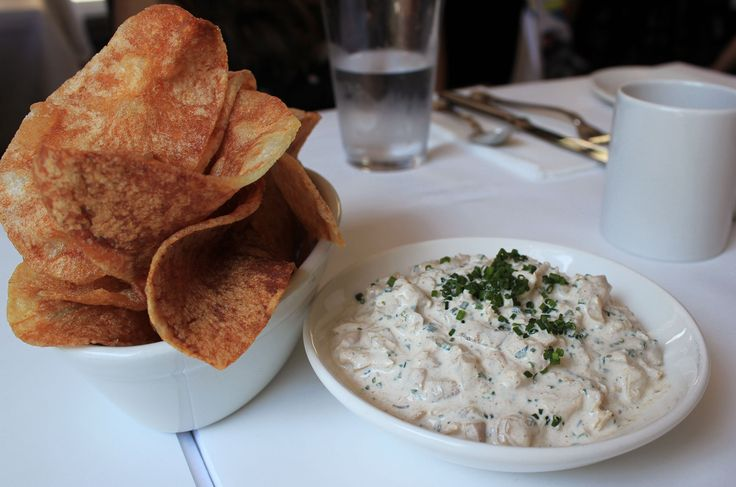 The Clam Dip from The Clam in #NewYorkCity – read my #Brunch review on #erinontherun #blog