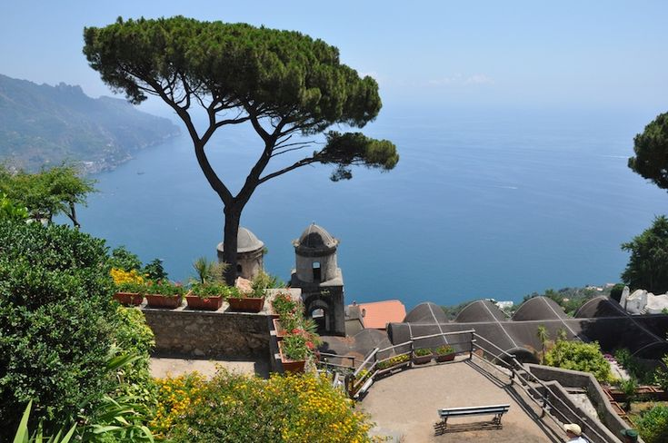 A view of Ravello, located on Italy's beautiful Amalfi coast. Taken from the Villa Rufolo. (Click the photo for our three top tips for how to get the MOST out of the Amalfi coast!)