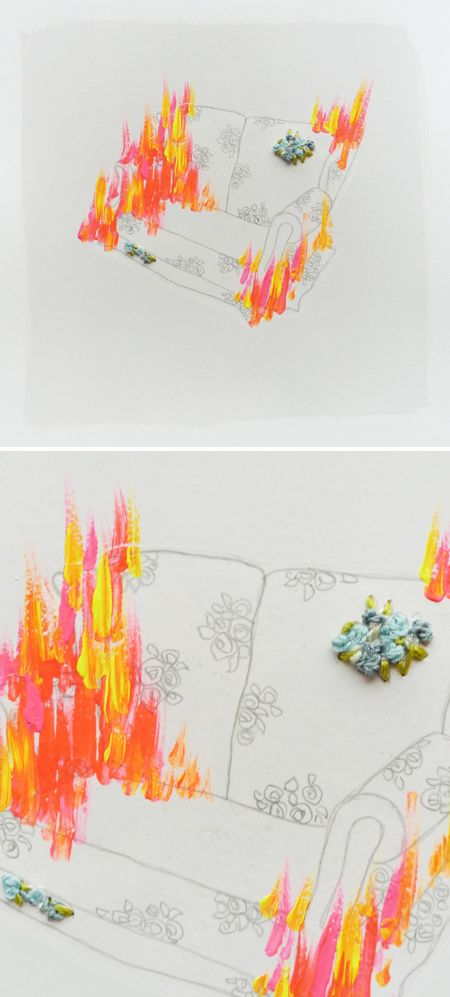 mixed media Auf thejealouscurator.com http://www.pinterest.com/nataliehughes/illustration-art-and-design/