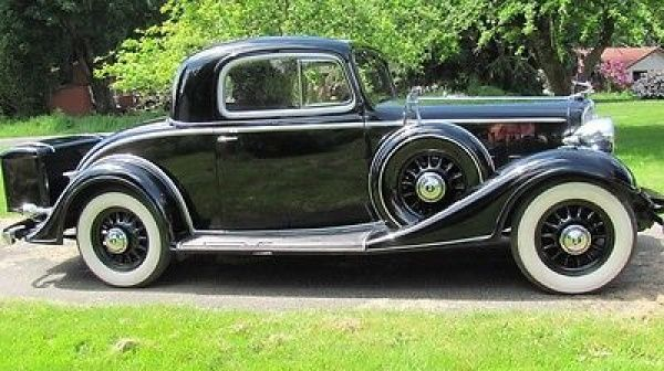 Buick other sport coupe 1933 buick series 50 3 window for 1935 pontiac 3 window coupe