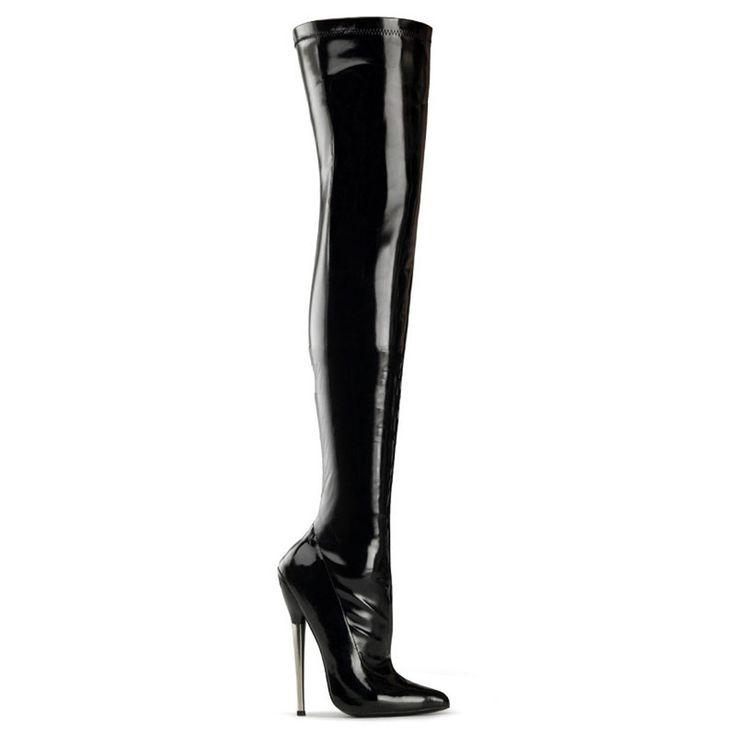 Devious Dagger-3000 - zapatos de tacón alto mujer fetiche extremos botas - tamaño 35-45: Amazon.es: Zapatos y complementos