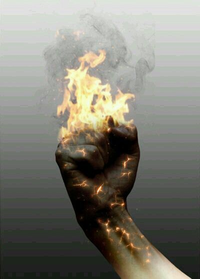 A Dying Star ▶ When a Star dies, hers or his skin turns to charcoal and brusts into flames.