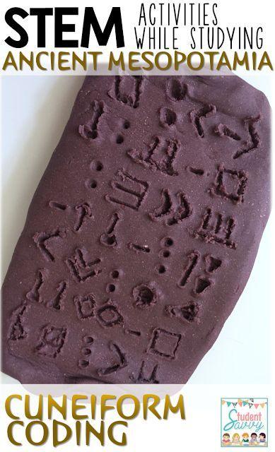 Ancient Mesopotamia STEM Ideas!
