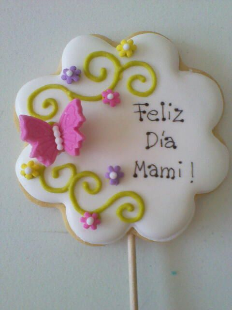 MOTHER´S DAY BUTTERFLY by Galletas divertidas, via Flickr
