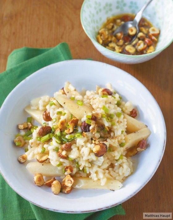 Salsify risotto - can sub parsnips...