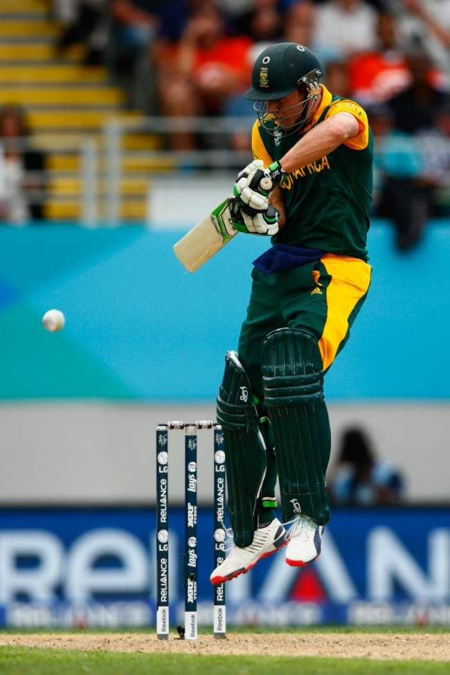 AB de Villiers upped the ante as soon as he came in