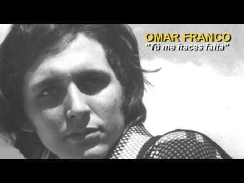 """OMAR FRANCO - Tú me haces falta - Bolero. Omar Franco interpreta la canción """"Tú me haces falta"""", del compositor dominicano Armando Cabrera. El arreglo musical es de Rafael Solano."""