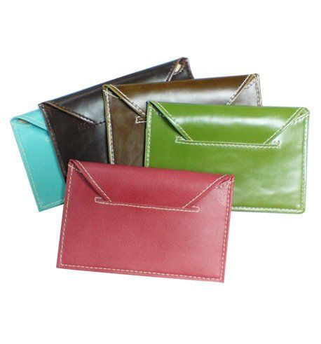 Weight : 37g Material : PU Leather Size: 10.5h X 8w cm  Card holders of 20 cards are available in horizontal format. The range of cover come in colour of pink, black, blue green and brown.