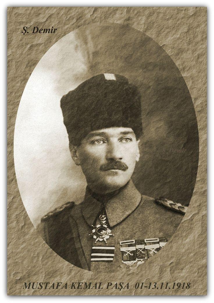 MUSTAFA KEMAL PAŞA   01-13.11.1918