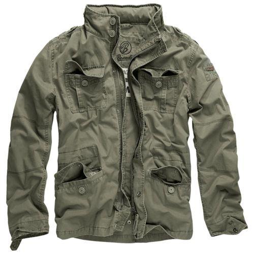 Brandit-Herren-Britannia-Jacke-Men-Jacket-Feldjacke-M65-Style-aus-Baumwolle-M-65