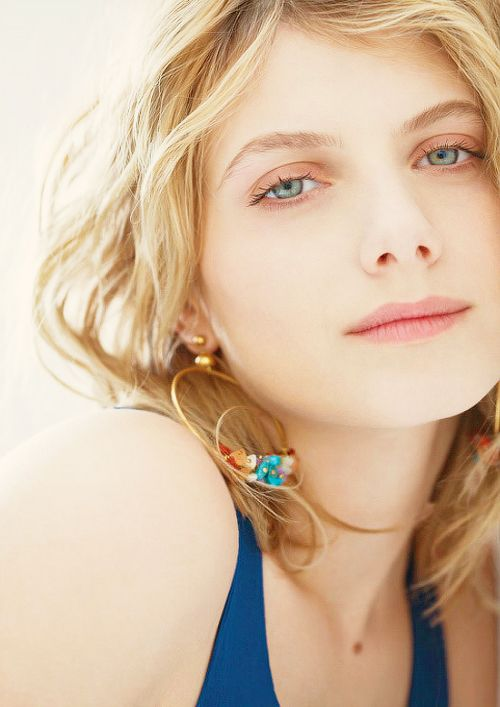 What tells us she is the very French? melanie laurent
