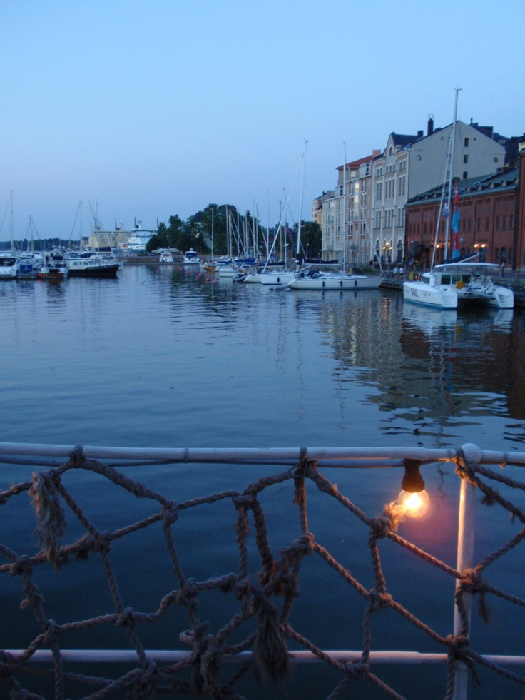 Summer evening in Helsinki, photo by Milla Nyholm