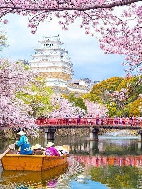 Himeji Castle, Hyogo, Japan - so amazingly beautiful it looks fake!