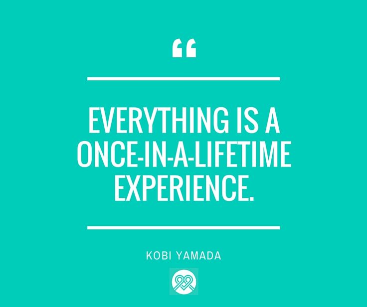 Carpe diem! Take hold of each opportunity you encounter. #itsMYCAUSE #inspire #KobiYamada