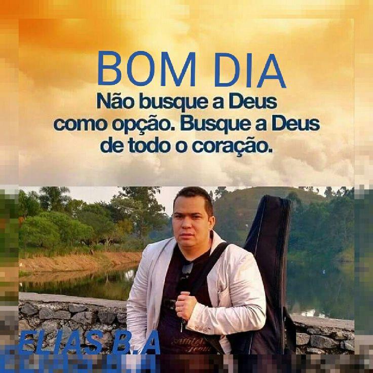 #eliasba #adoracao #musica #evangelico bom dia povo abençoado na paz do senhor Jesus Cristo E lá procurarão o Senhor, o seu Deus, e o acharão, se o procurarem de todo o seu coração e de toda a sua alma.  Deuteronômio 4:29