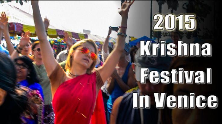 2015 Hare Krishna Festival in Venice Beach, California