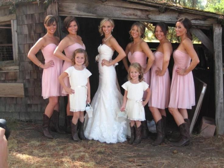 Cowboy Cowgirl Wedding Rings