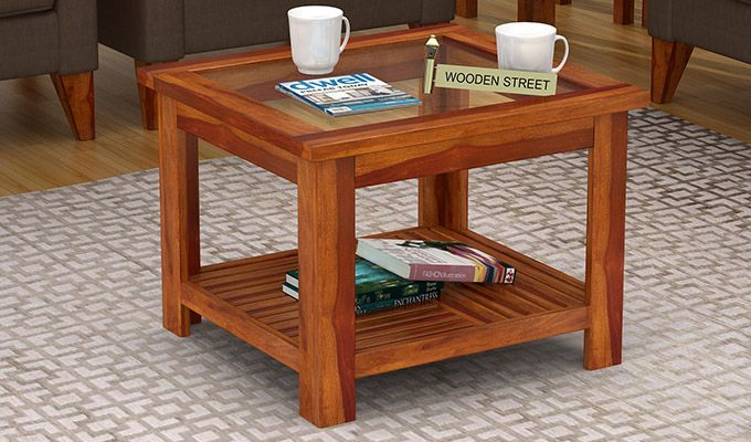 Pune Stylish Coffee Table Table Wooden Street