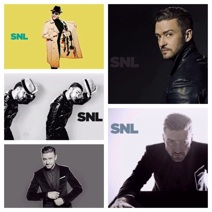 Justin Timberlake SNL Musical Guest Bumpers