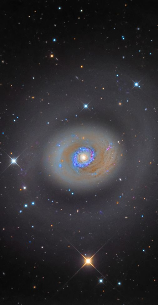 M94 ~ is a spiral galaxy in the constellation Canes Venatici. - herbert knapp - Google+