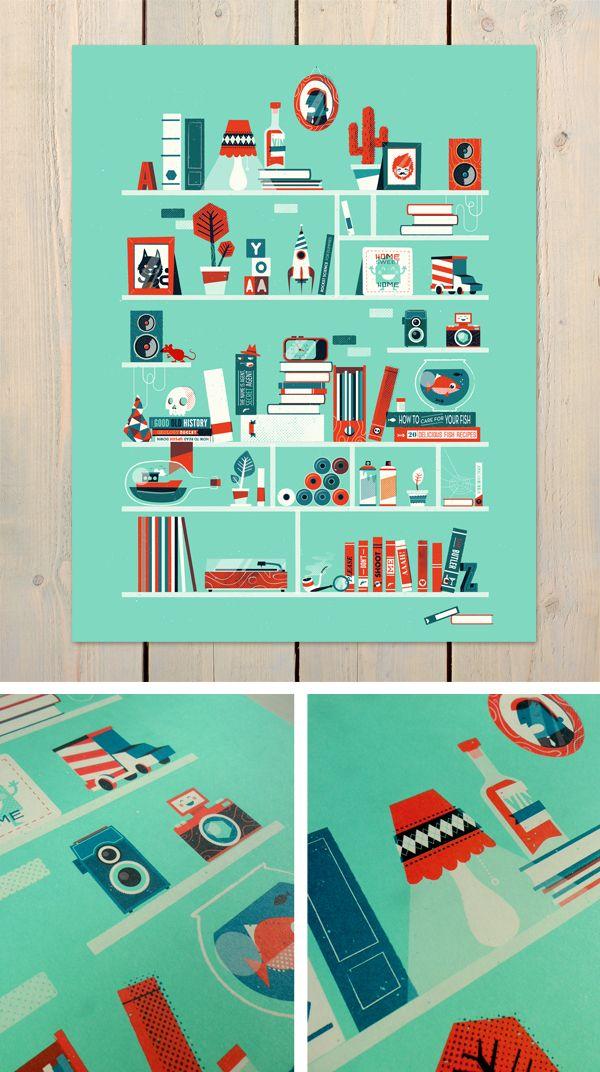 Shelf-portrait