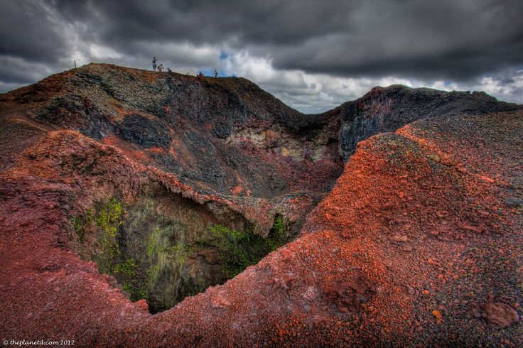 Walk the rim of an active volcano... This is Sierra Negre, in the Galapagos.