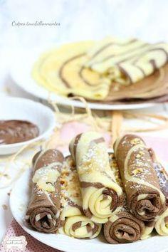 Découvrez la recette Crêpes tourbillonnantes sur cuisineactuelle.fr.