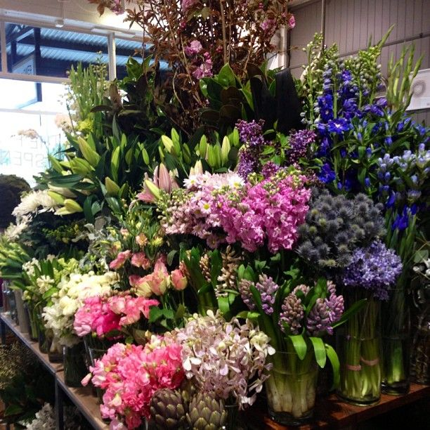 Flowers on market day The Flower Dispensary