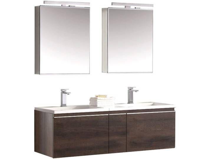 Eago Badmobel Milano Me 1400 Eiche Dunkel 140x45 Badezimmer Badezimmermobel Bathroom Bathroomdesign Furnitur Badezimmer Mobel Badmobel Set Waschtisch Set
