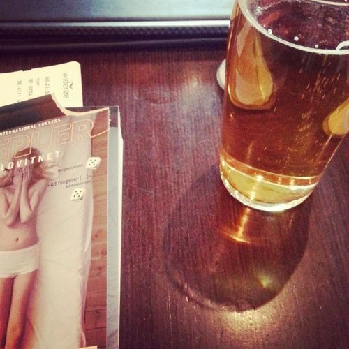 19.02.13 - Kristiania, book and beer.
