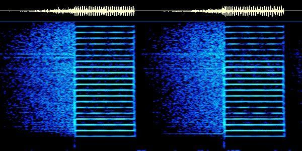 UVB-76 buzz spectrum