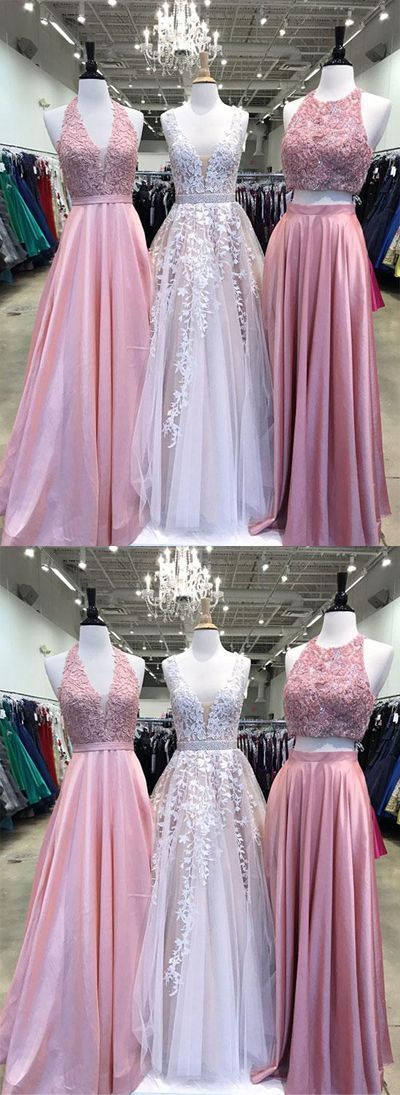 New Arrival Prom dresses, Long Lace Appliques Pretty Formal Elegant Prom Dresses, Party Evening dress, PD0656