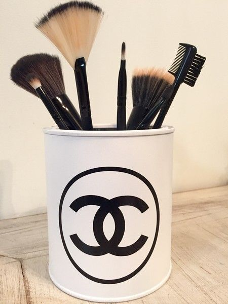 Porta pincéis Chanel White | R$34,90