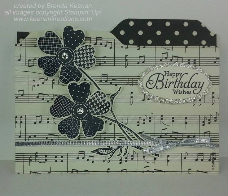 File Folder card created with the envelope punch board. More ideas at www.keenankreations.com