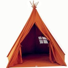 [Outdoor Sports] Canvas Kids Teepee Tent for Sale