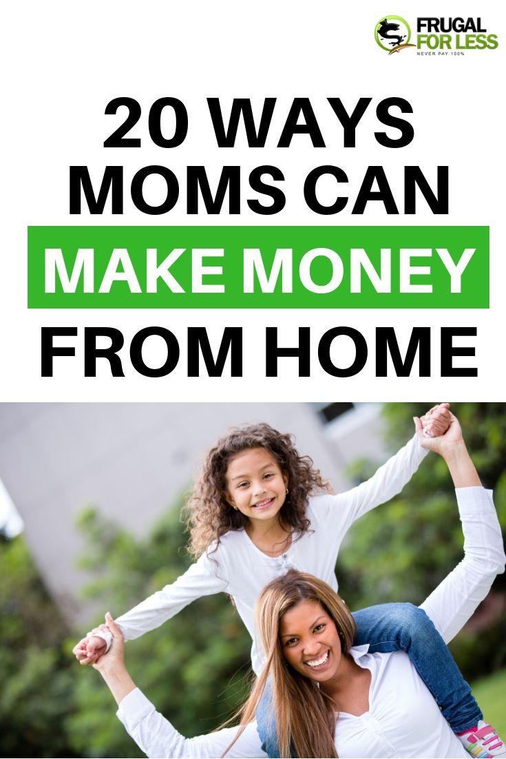Moms Make Money From Home – Make Money