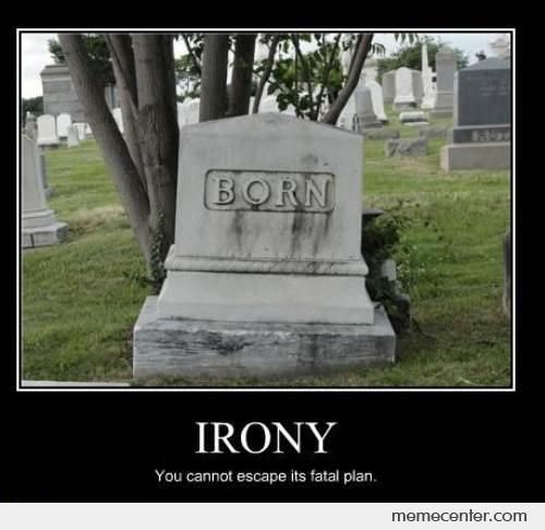 irony in a good man is hard to find