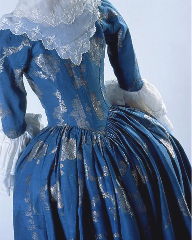 Robe a l'anglaise ca. 1780 From the Costume Museum of Canada