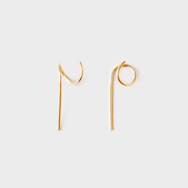 Bella Bella | Swirls gold earring, left | €101 | ENIITO