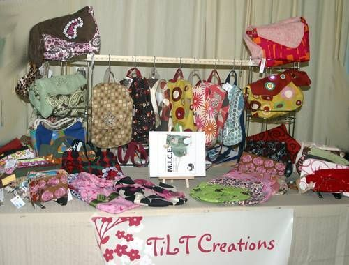Pictures of craft fair setup -