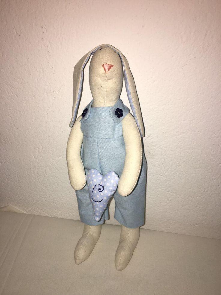 Sweet blue Bunny  - New born baby boy nursery decoration - Dolce coniglietto azzurro  - Decorazione cameretta bambino o fiocco nascita di Laboitedesetoiles su Etsy