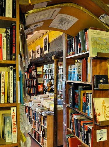 Shakespeare and Company - The only all-English book store in Paris.  Right next to the Arc de Triomphe.