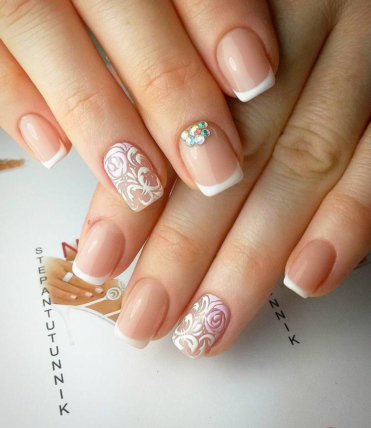 Коррекция нарощеных ногтей (акрил  OPI) . Покрытие гелевым лаком #френч . #дизайнногтей  #вензеля  #стразы и #розы ..... ..... ..... #наращиваниеногтей #омск #мимими #nail #gelnails #acrylicnails #казахстан #kazakhstan #manicure #nails #гельлак #gelnails #маникюр #instanails #polishgirl #гелевоепокрытие  #omsk #nailart #nailstagram #гельлакомск #маникюромск #ногтиомск #gelpolish #nailsomsk #наращиваниеомск by stepantutunnik