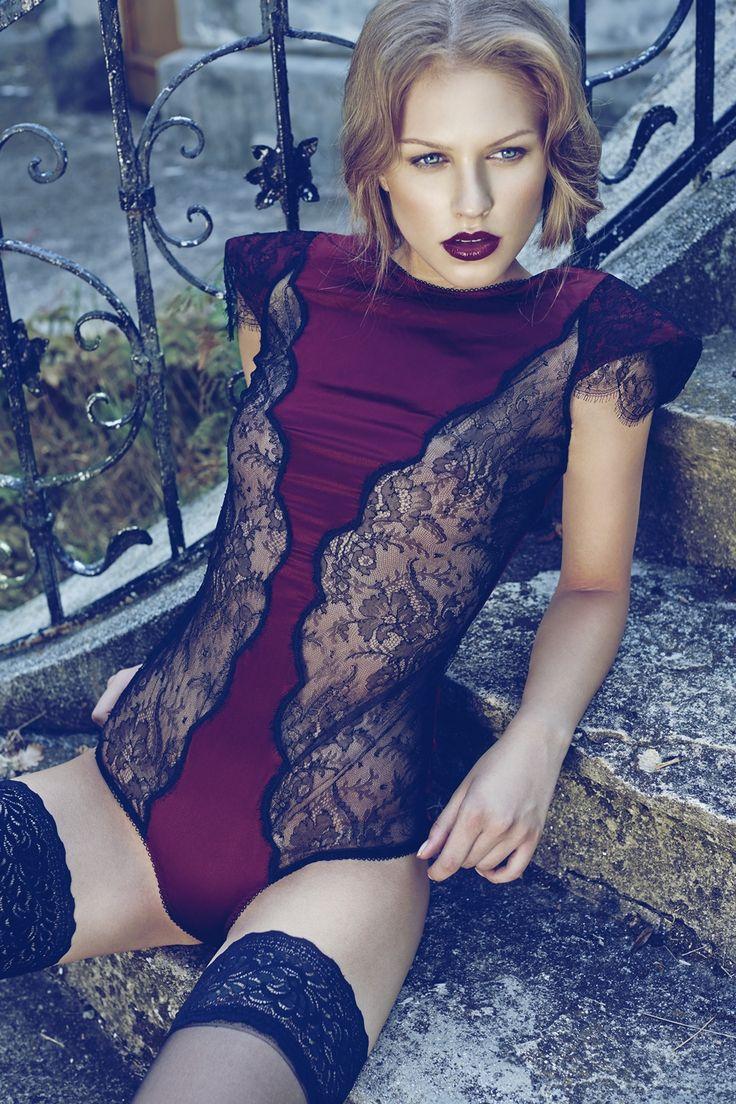 I.D. Sarrieri Body -- Model: Gina Chirila -- Photographer: Stefan Dani for Rumours Magazine, August/September 2013