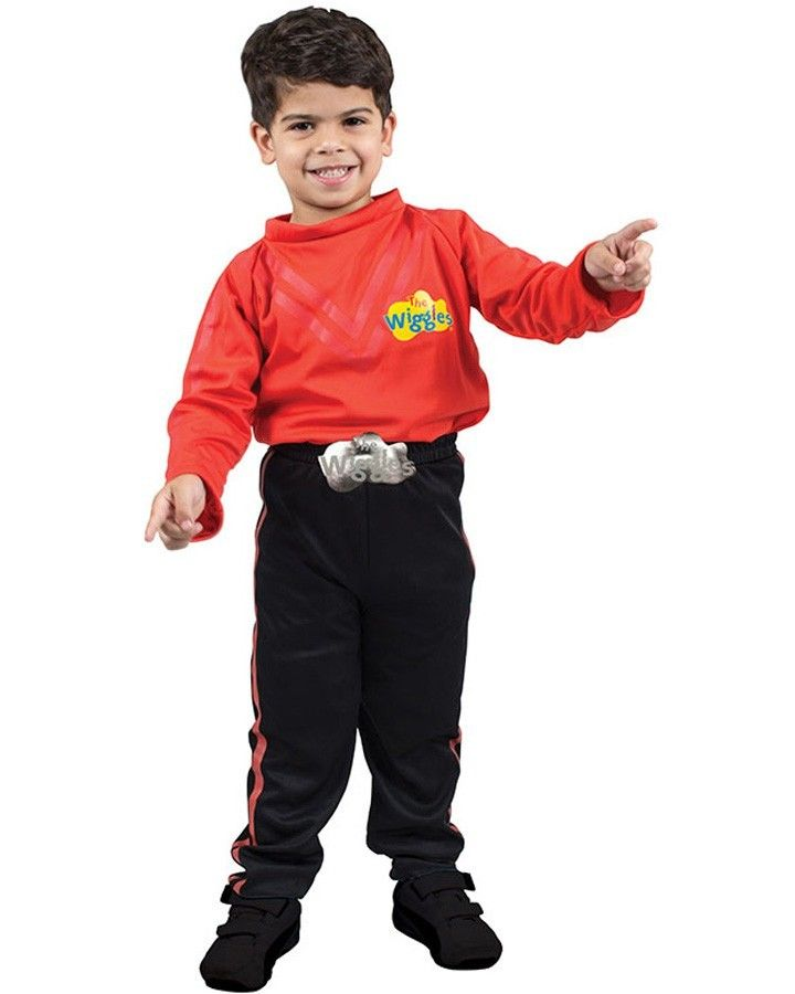 The Wiggles Red Wiggle Simon Child Boys Costume