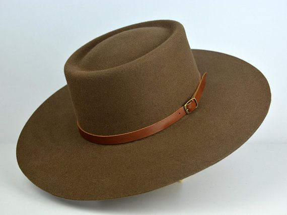0ee41ce74 Bolero Hat | The MOJAVE | Taupe Vaquero Crown Wide Brim Hat Men ...