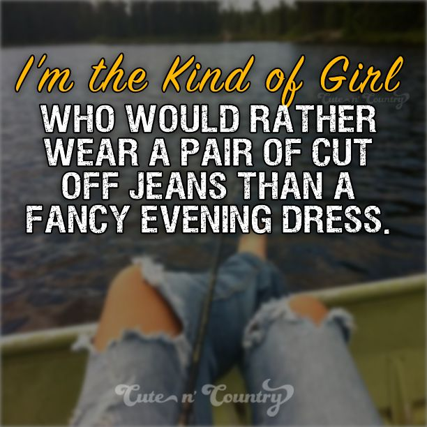 #countrygirl #cutoffjeans #countrylife sure to follow Cute n' Country at http://www.pinterest.com/cutencountrycom/