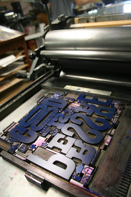The lost art of [gritty] letter press @crankypress